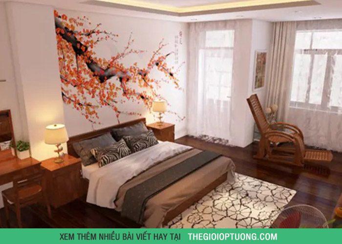 7 mẫu rèm cửa đẹp kiểu châu á cho phòng các cặp đôi