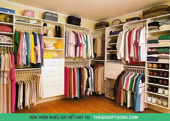 Làm thế nào để tủ quần áo luôn gọn gàng như cửa hàng?