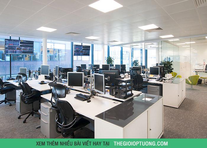 Trang trí văn phòng công ty lịch sự, năng động mà vẫn tiết kiệm