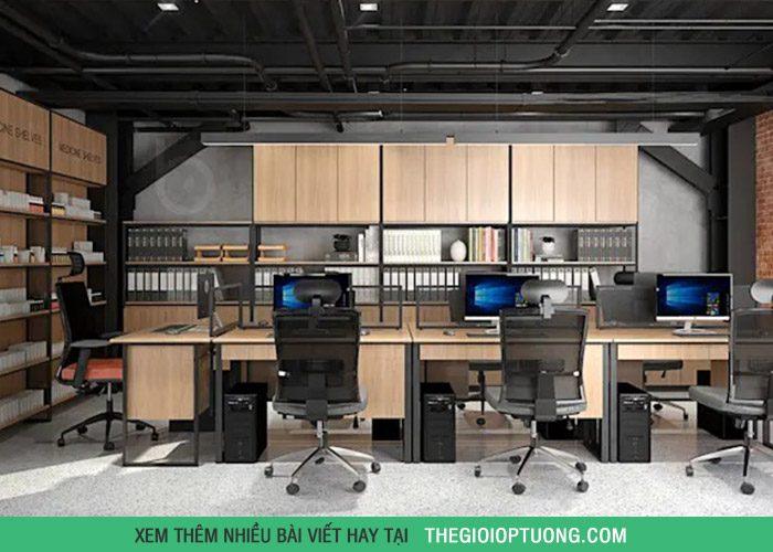 Trang trí văn phòng phong cách công nghiệp cực độc đáo