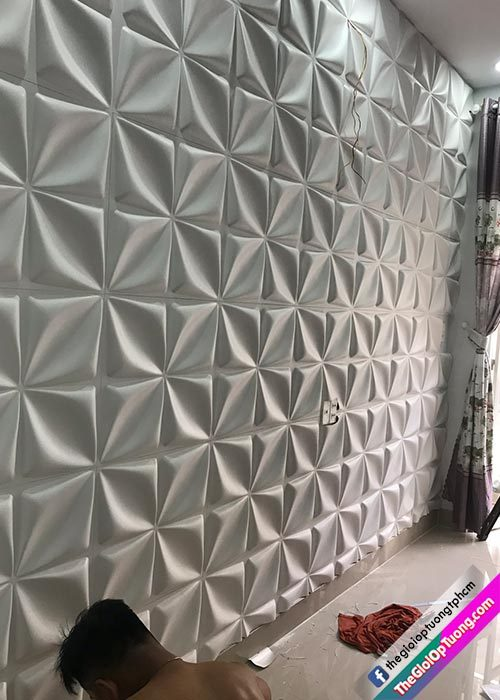 Tấm ốp tường 3d bình dương, cung cấp và thi công ốp 3D tường giá sỉ kho