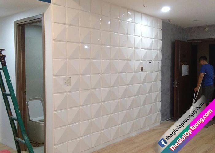 Hướng dẫn  tự thi công ốp tường nhựa trang trí chuyên nghiệp như thợ