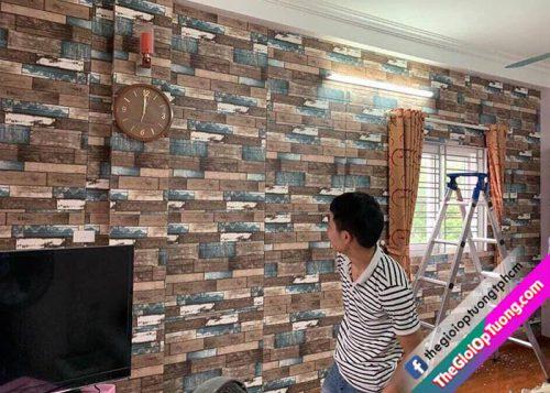 Xốp dán tường mua ở đâu giá rẻ đẹp, Xốp tường 3D giá sỉ