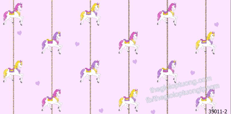 Giấy dán tường màu tím pastel đẹp xinh xắn, giấy dán tường phòng bé