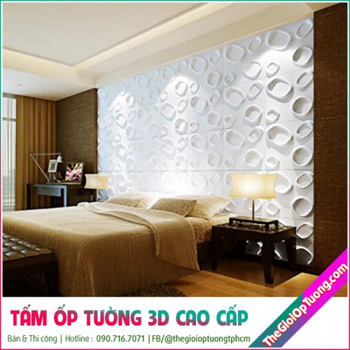 Tấm ốp tường 3d PVC / Ốp tường da là phiên bản cao cấp hơn các dòng xốp dán tường thông thường. Cho tính mỹ quan cao hơn và độ bền cũng lâu dài hơn