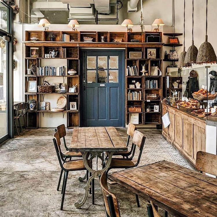 Các phong cách trang trí quán cafe đẹp phổ biến hiện nay, Phong cách trang trí quán cafe xưa được yêu thích hiện nay