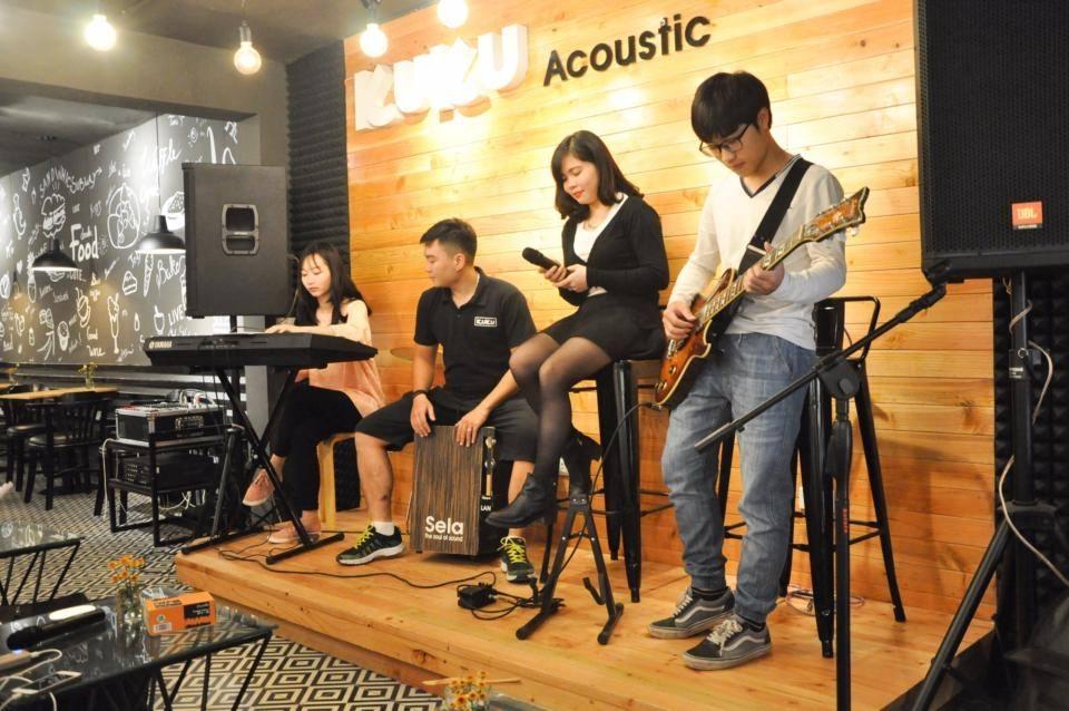 Cách trang trí quán cafe acoustic thu hút giới trẻ