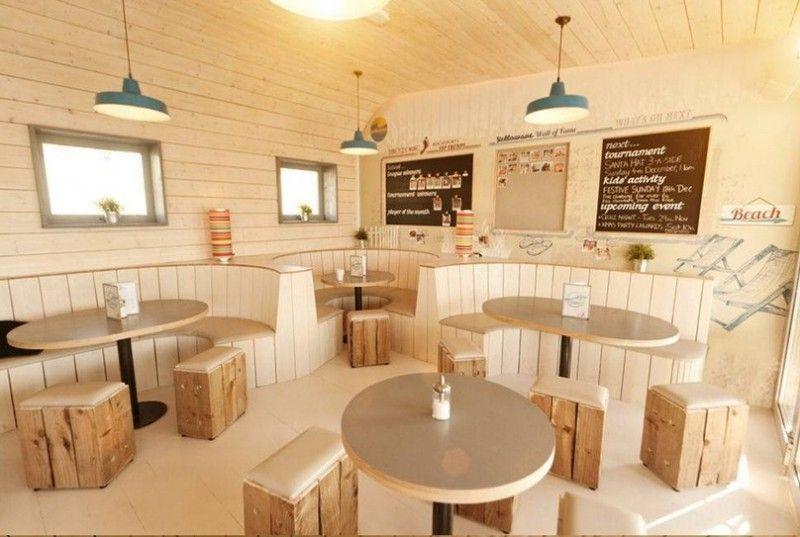 Trang trí quán cafe máy lạnh theo nhiều phong cách