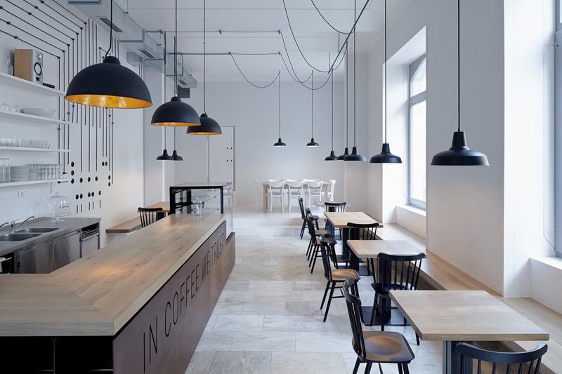 Cách trang trí quán cafe văn phòng đơn giản, lịch sự