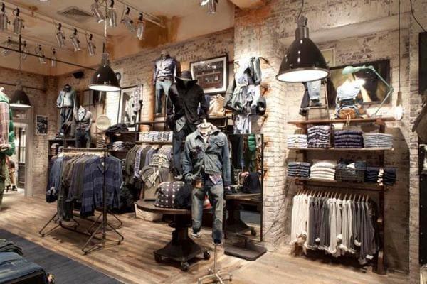 Cách chọn giấy dán tường shop quần áo phù hợp phong cách