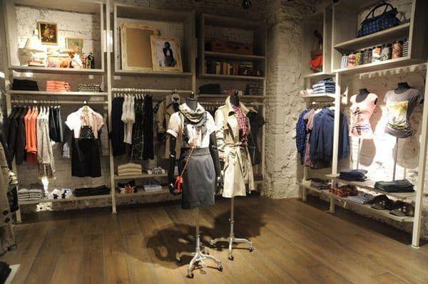 Các mẫu giấy dán tường shop quần áo được mua nhiều nhất