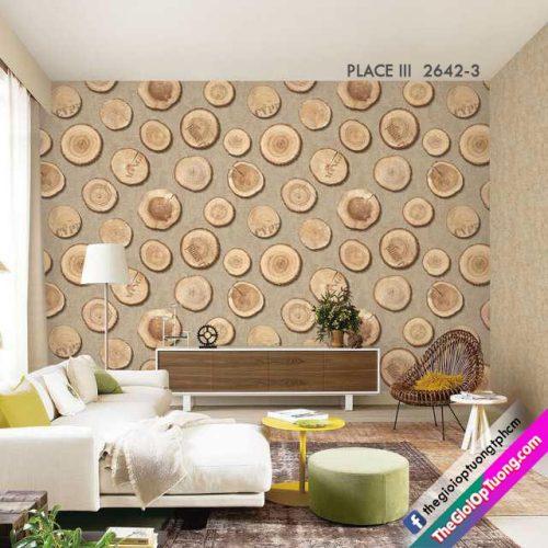 Vật liệu trang trí giấy dán tường góp mặt trong nhiều công trình nhà ở hiện đại