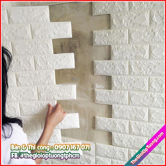 Xốp dán tường bình dương mua lẻ giá rẻ như mua sỉ