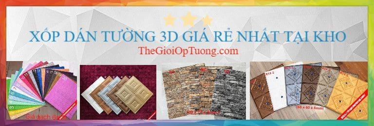 Mua xốp dán tường 3D giả GẠCH ĐÁ GỖ VINTAGE, Xốp Dán Tường 3D Giả Gạch Giả Đá HLB001