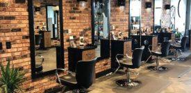 Cung cấp vật liệu trang trí, Hợp tác thi công công trình giá sỉ kho, Phong cách trang trí cửa hàng cắt tóc, salon tóc, barber shop