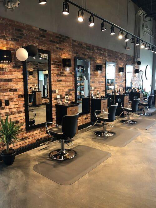 Phong cách trang trí cửa hàng cắt tóc, salon tóc, barber shop