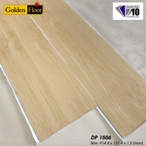 Sàn nhựa vân gỗ Golden Floor tự dán