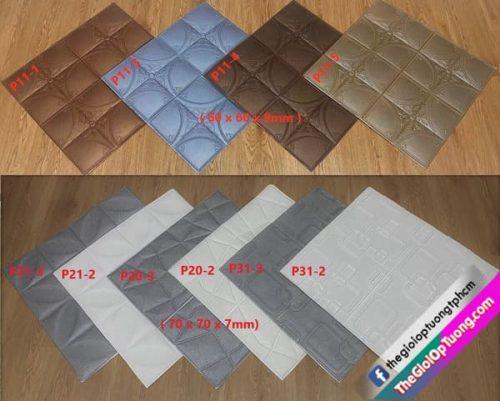 Tổng hợp mẫu xốp dán tường 3D mới 2020 tại Thế Giới Ốp Tường