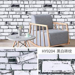 Dán tường decal hàn quốc giả gạch trắng độc đáo - 9204