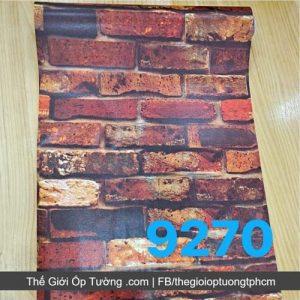 Giấy dán tường decal gạch giả cổ - 9270
