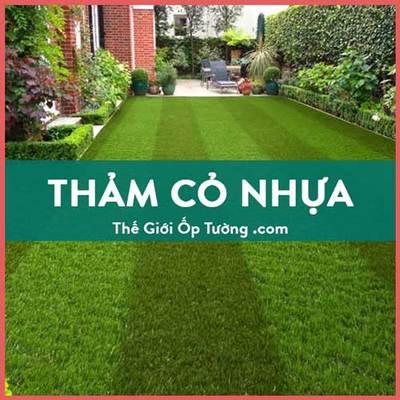 Thảm cỏ nhân tạo trải nền
