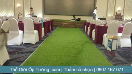 Thảm cỏ nhân tạo trang trí, mua thảm cỏ nhựa tại tphcm