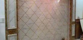 Vật liệu ốp tường giả đá nổi bật trong trang trí nội thất hiện đại