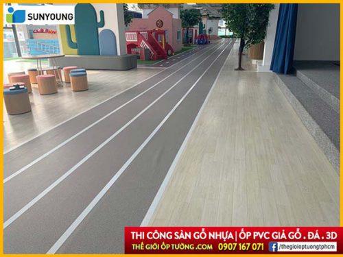 Ưu điểm tuyệt vời sàn nhựa dạng cuộn Sunyoung