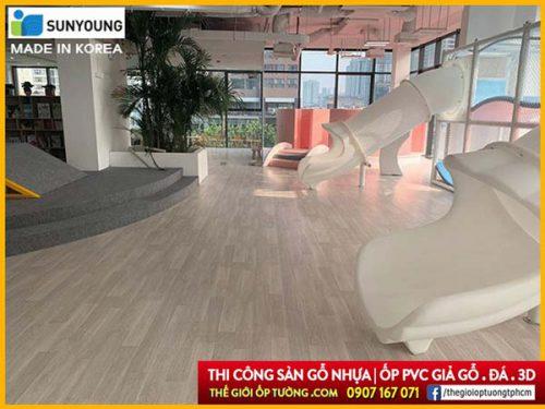Sàn nhựa cuộn vinyl Sunyoung