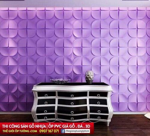 Mua ốp tường 3D Tphcm tự thi công trang trí chuyên nghiệp như thợ