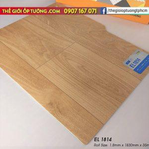 Sàn nhựa cuộn vinyl giả gỗ SunYoung 1814 - Sàn nhựa Hàn Quốc