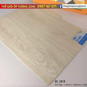 Sàn nhựa cuộn vinyl giả gỗ SunYoung 1815 - Sàn nhựa Hàn Quốc