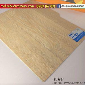 Sàn nhựa cuộn vinyl giả gỗ SunYoung 1821 - Sàn nhựa Hàn Quốc