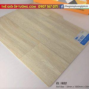 Sàn nhựa cuộn vinyl giả gỗ SunYoung 1822 - Sàn nhựa Hàn Quốc