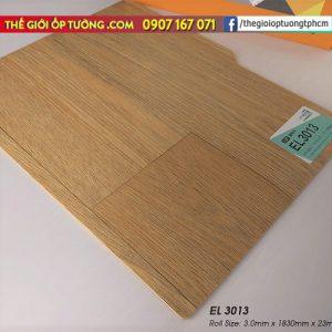Sàn nhựa cuộn vinyl giả gỗ SunYoung 3013 - Sàn nhựa Hàn Quốc