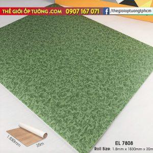 Sàn nhựa cuộn vinyl vân thảm SunYoung 7808 - Sàn nhựa Hàn Quốc