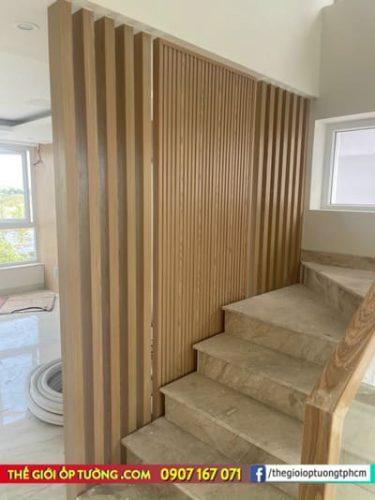 Lam nhựa giả gỗ GPWood góp mặt trong nhiều công trình hiện đại