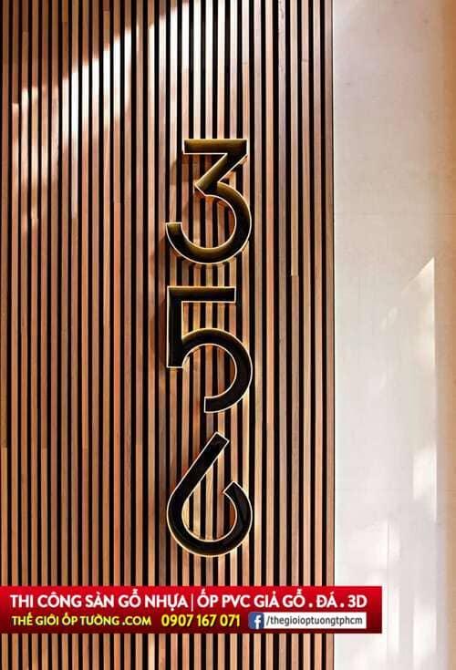 Sản phẩm lam nhựa giả gỗ ốp tường đẹp điêu đứng Tphcm, Mỹ Tho