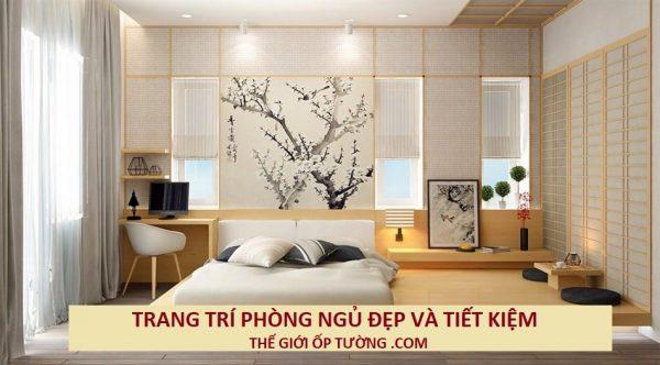 Cách trang trí phòng ngủ đơn giản với chi phí bằng 1/3 thông thường