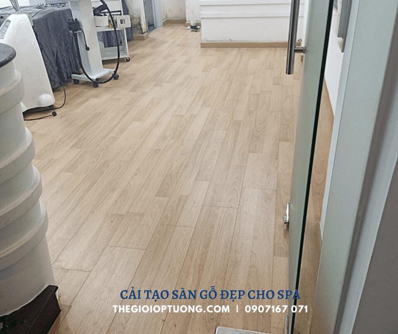 Sàn nhựa giả gỗ tphcm - Giải pháp ốp sàn phổ biến hiện nay