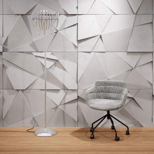 Ứng dụng tấm ốp tường 3d xi măng trong thiết kế công trình
