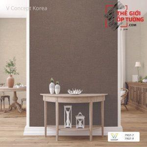 Giấy dán tường Hàn Quốc hoa văn 7907-9 | V-concept