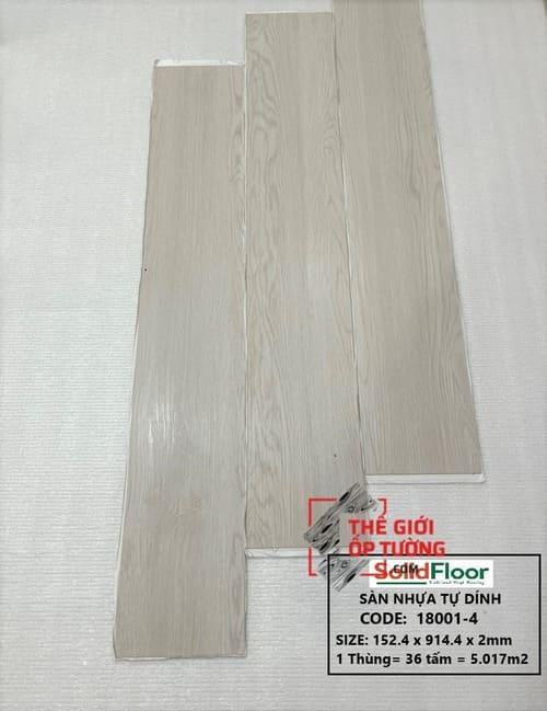 Sàn Nhựa Tự Dán Solid Floor 18001-4