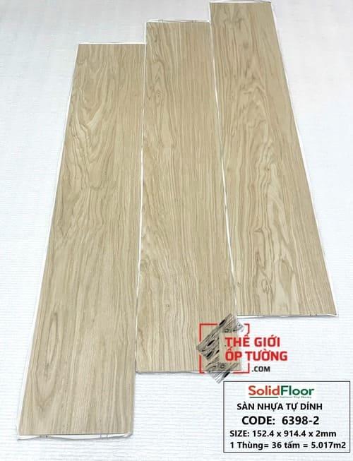 Sàn Nhựa Tự Dán Solid Floor 6398-2