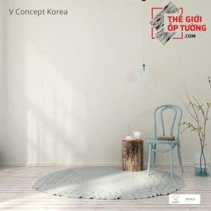 Giấy dán tường Hàn Quốc màu trơn 7914-5   V-concept