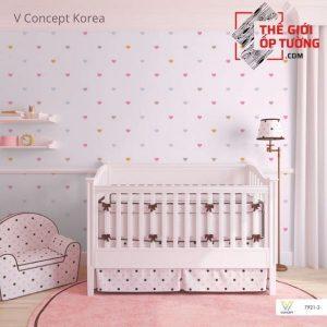 Giấy dán tường Hàn Quốc phòng bé 7921-3 | V-concept